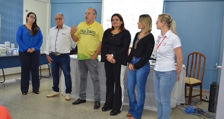 Noticia Destaque Workshop sobre disfagia promove integração entre profissionais da região