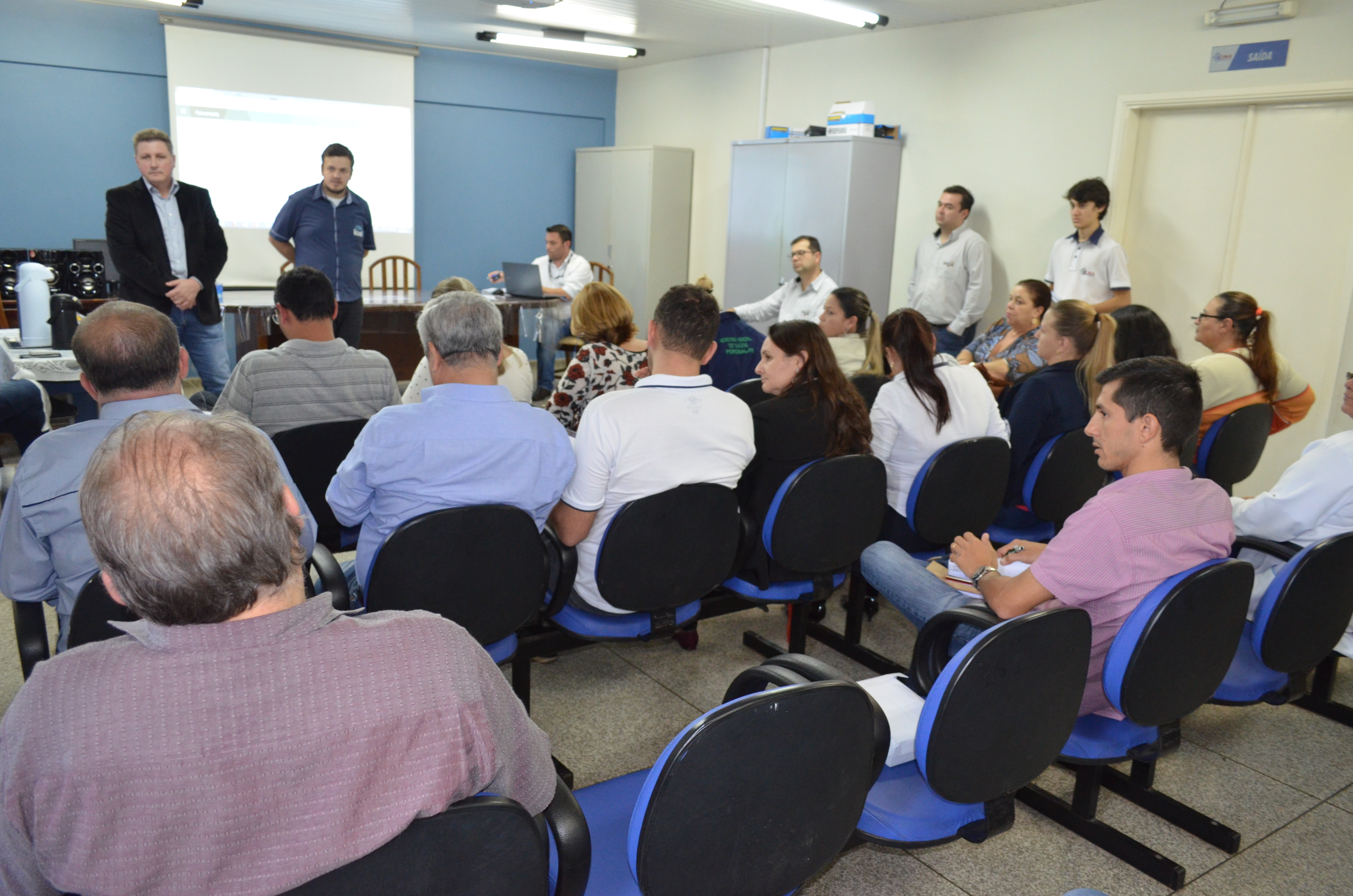 Noticia Destaque Gestores do Cisa-Amerios participam de treinamento para operar sistema de dados