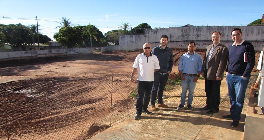 Noticia Destaque Primeira etapa da construção do novo prédio do Cisa-Amerios é iniciada