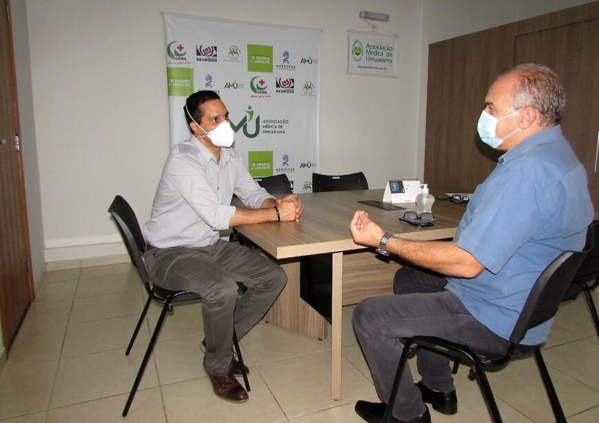 Noticia Destaque Cisa-Amerios e AMU unem forças para capacitação de profissionais de saúde no combate ao Covid-19